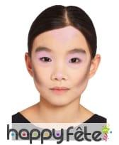 Maquillage visage Le jour des morts pour enfant, image 2