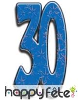 Nombre d'anniversaire géant en carton plat, 171cm, image 4