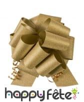 Noeud de ruban décoratif pailleté, image 2