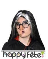 Nez et lunettes de sorcière
