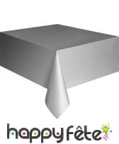 Nappe rectangulaire en plastique de 137 x 274 cm, image 1