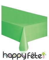 Nappe rectangulaire en plastique de 137 x 274 cm, image 8