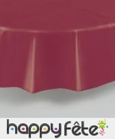 Nappe ronde en plastique de 213 cm, image 1