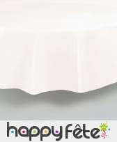 Nappe ronde en plastique de 213 cm, image 2