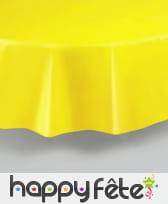 Nappe ronde en plastique de 213 cm, image 3