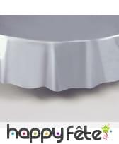Nappe ronde en plastique de 213 cm, image 5