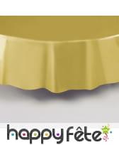 Nappe ronde en plastique de 213 cm, image 9