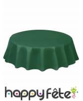 Nappe ronde en plastique de 213 cm, image 12