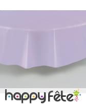 Nappe ronde en plastique de 213 cm, image 14