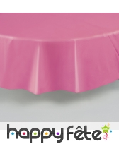 Nappe ronde en plastique de 213 cm, image 16