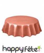Nappe ronde en plastique de 213 cm, image 18