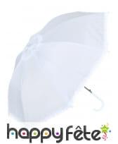 Ombrelle blanche effet dentelle, image 2