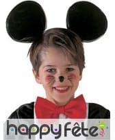 Oreilles de petite souris sur serre-tête, enfant