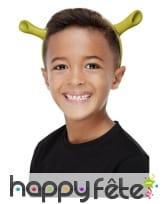 Oreilles de Shrek pour enfant