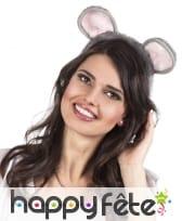 Oreilles de souris sur serre-tête