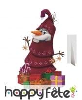 Olaf sapin de Noël taille réelle
