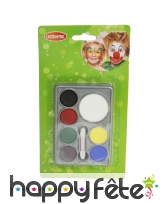Palette 7 couleurs de maquillage
