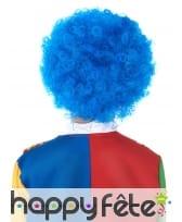 Perruque afro bleue pour enfant, image 1