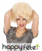 Perruque afro BLONDE, image 2