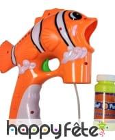 Pistolet à bulles avec savon, image 1