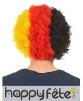 Perruque afro drapeau Allemand, image 1