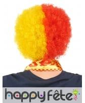 Perruque afro drapeau Espagnol, image 1