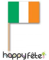 Pics apéritifs drapeau Irlandais
