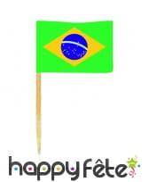 Pique apéritif drapeau, image 1