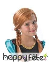 Perruque Anna pour enfant, La Reine des Neiges, image 2