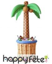 Palmier bac à boissons gonflable de 185cm