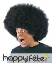 Perruque big afro noire