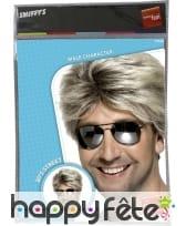 Perruque blonde années 80, image 1