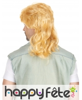 Perruque blonde coupe mulet, image 1
