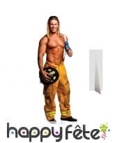 Pompier blond chippendale en carton plat