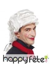 Perruque blanche de Casanova