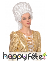 Perruque blanche de Marie Antoinette