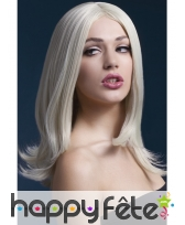 Perruque blonde de 43cm. Sophia