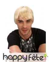 Perruque blonde de kevin le playboy, image 2