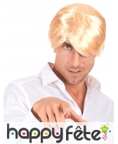 Perruque blonde de kevin le playboy