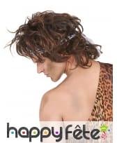 Perruque brune d'homme des cavernes, image 1