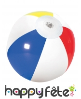 Petit ballon de plage multicolore gonflable