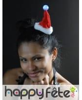 Petit bonnet de Noël lumineux, image 1