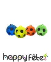 Petites balles de foot puffer lumineuses de 8cm