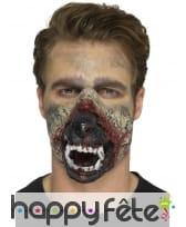 Prothèse bouche de loup garou en mousse de latex, image 3