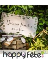 Pancarte Boissons Fraîches de 47cm, image 1