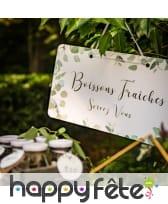 Pancarte Boissons Fraîches de 47cm, image 2