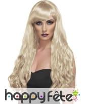 Perruque blonde longues boucles