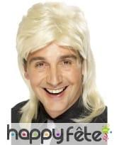 Perruque blonde nuque longue