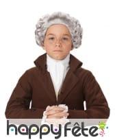 Perruque baroque pour enfant