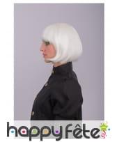 Perruque blanche phosphorescente de cabaret, image 4